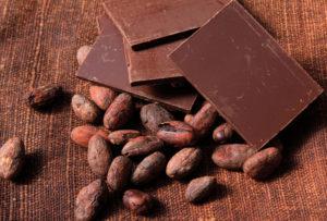 dessert au cacao