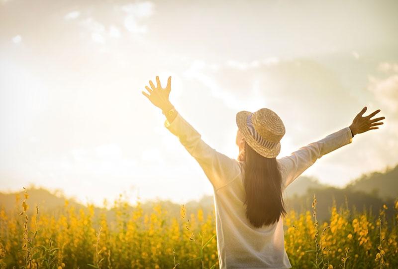 énegie et soleil dans la vie