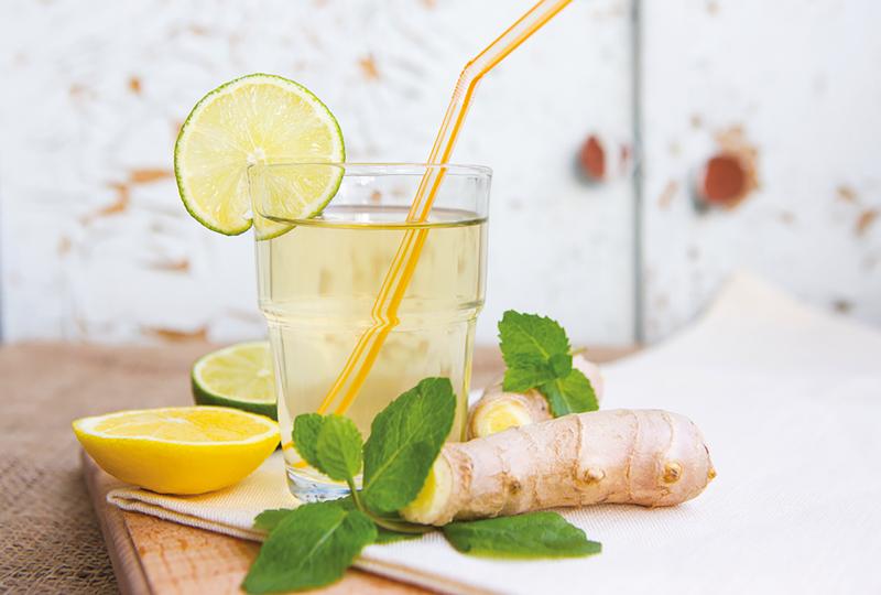 décoction au citron et gingembre